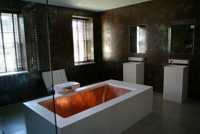Salle de bain moderne - les tendances actuelles en 55 photos Wallpaper