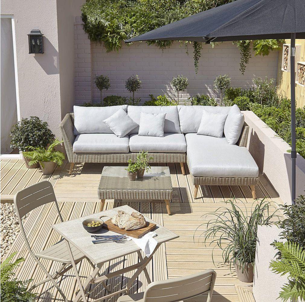 Salon De Jardin En Rotin Sulana Backyard Patio Patio Rattan