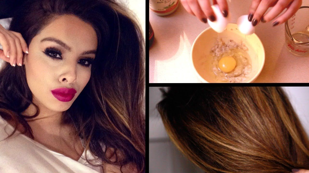 DIY Hair Mask for Dry, Damaged Hair Faster Growth! 1 egg 1