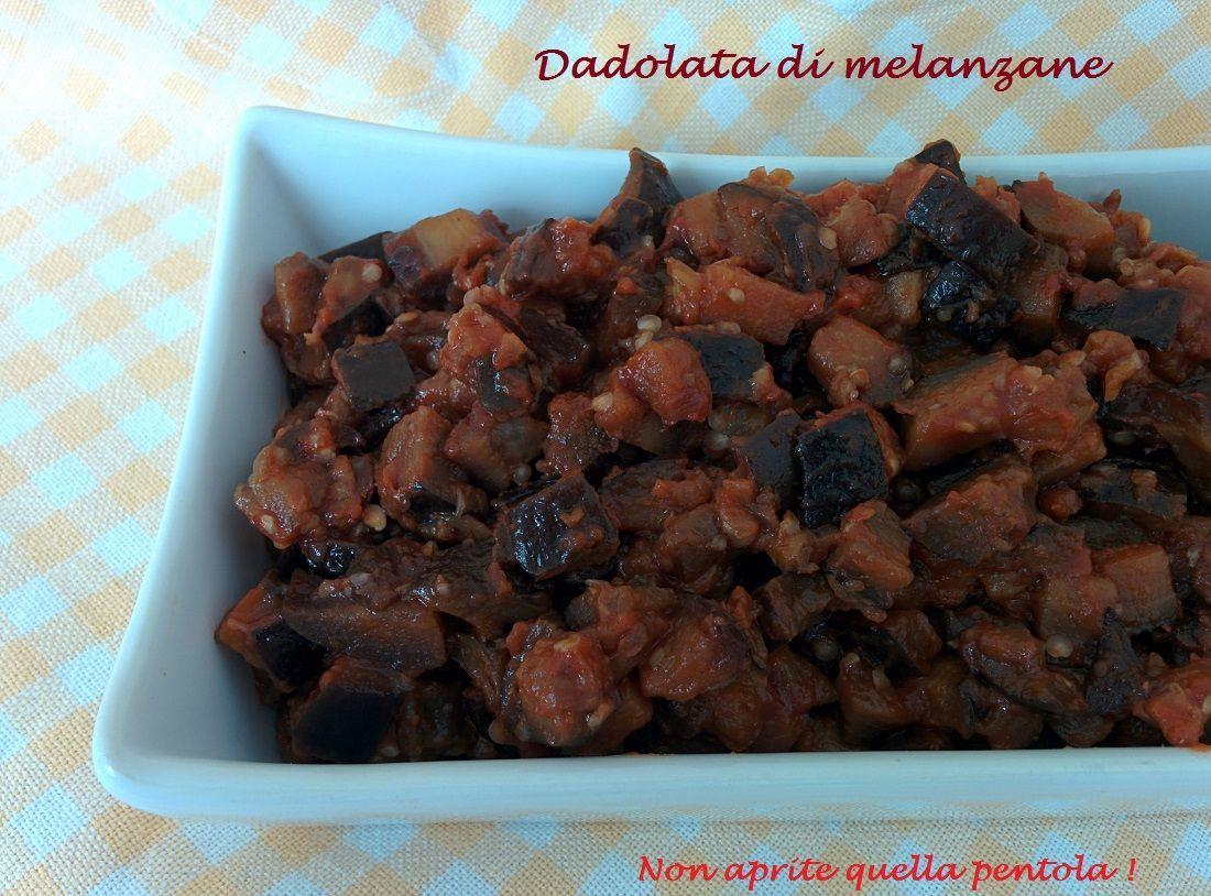 Con le buonissime melanzane dell'orto Kima ha realizzato questa dadolata di melanzane che è adatta sia come contorno sia per condire una buonissima pasta. http://blog.giallozafferano.it/nonapritequellapentola/dadolata-melanzane/