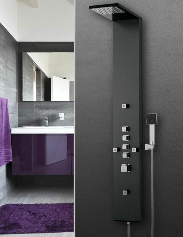Duschpaneele sorgen f r eine moderne badezimmergestaltung - Moderne badezimmergestaltung ...