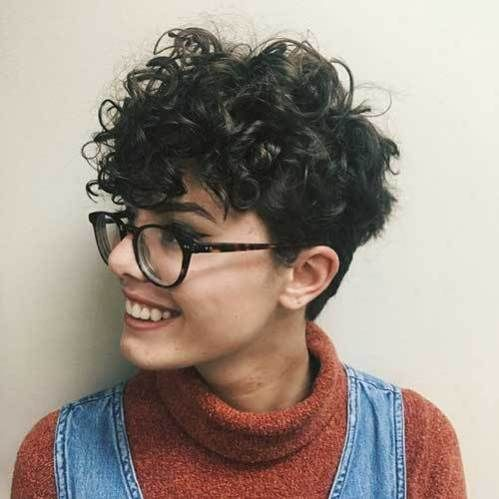 cute curly short hairstyles for ladies  short curly hair