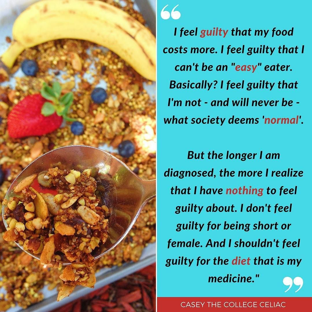 Another post for #celiacawarenessmonth. Have you ever felt ...