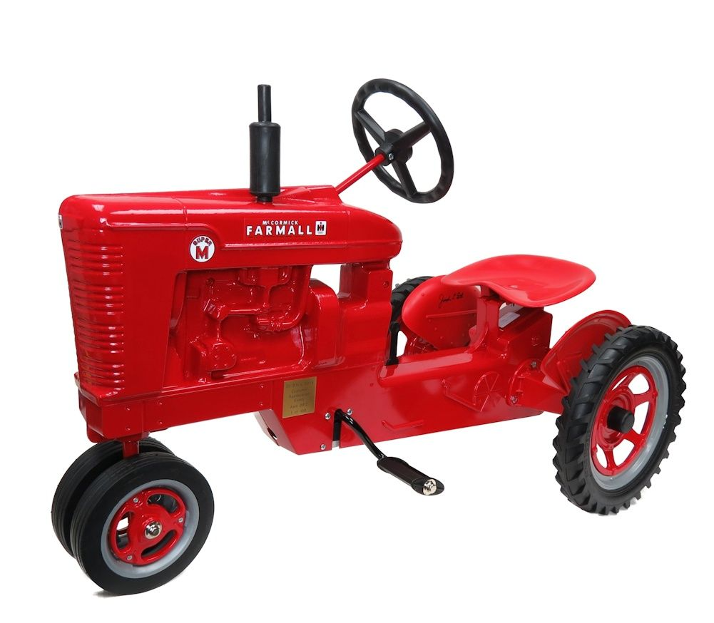 RED Limited IH Farmall Super M Pedal Tractor with Spoked