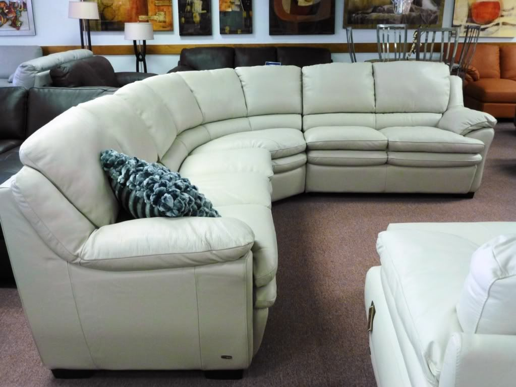 Natuzzi Furniture For B550 On 3399 00 Sectional Leather