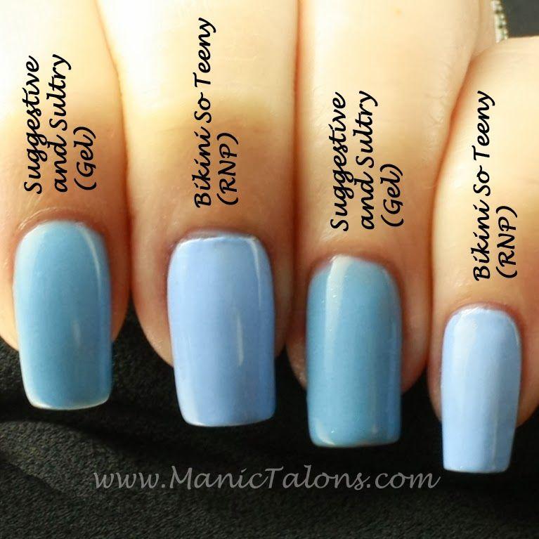 nice gel nail polish vs regular Manic Talons Essie Gel Swatches ...