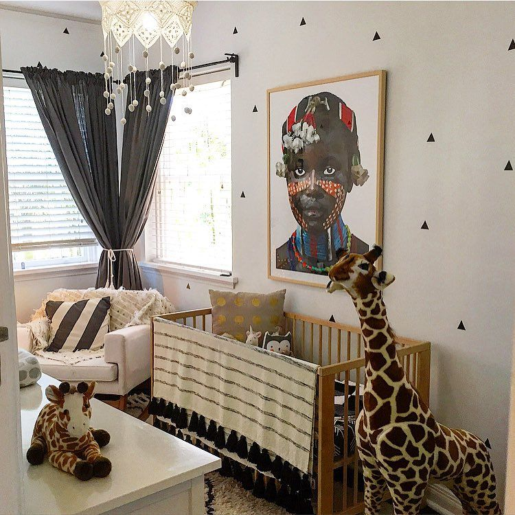 Baby Modern Nursery Safari