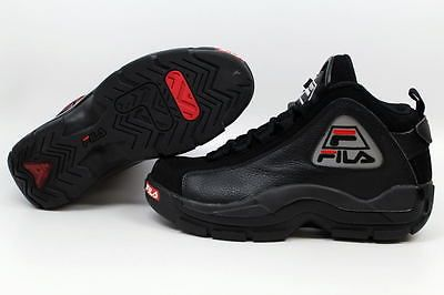 9b49fa973fb Fila 96 Black/Black-Silver Grant Hill 1VB90037-010 Men's SZ 11 ...