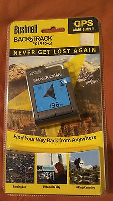 Bushnell BackTrack Point-3 Handheld Personal GPS