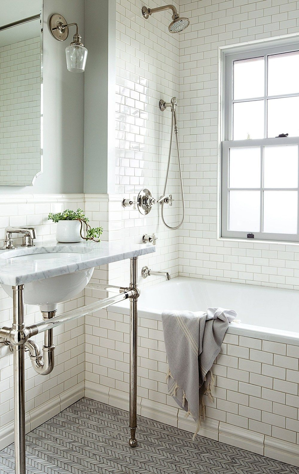 Classic Bathroom Design How To Make Subway Tile Look Classic Not Basic Bathroom Design