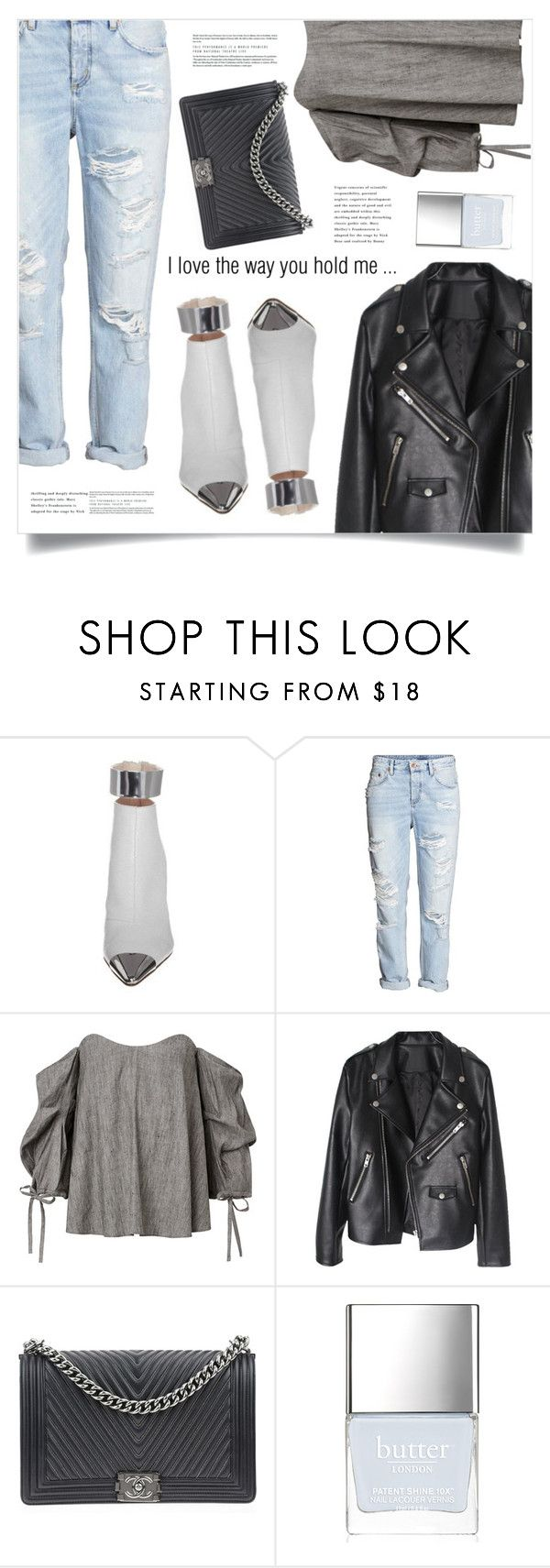 """Rainy Monday"" by marina-volaric ❤ liked on Polyvore featuring MICHALSKY, Chanel and Butter London"