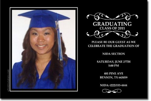 Image Result For Graduation Invitation Wording College Graduation