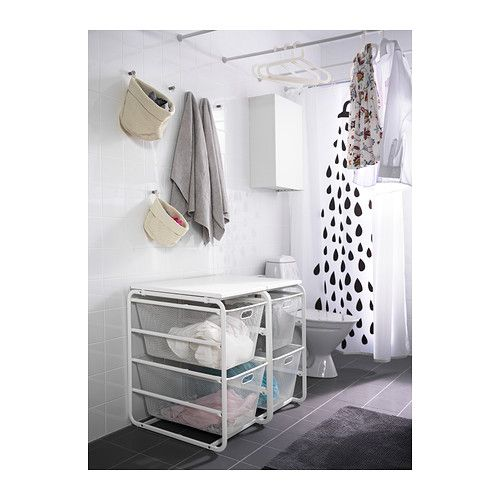 ikea algot rahmen 2 netzdrahtk rbe deckplatte die. Black Bedroom Furniture Sets. Home Design Ideas