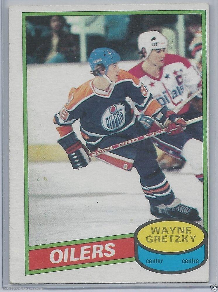 Wayne Gretzky 198081 OPC 250 Edmonton Oilers NM