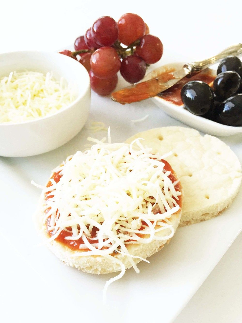 Homemade Healthified Pizza 'Lunchable' — The Skinny Fork
