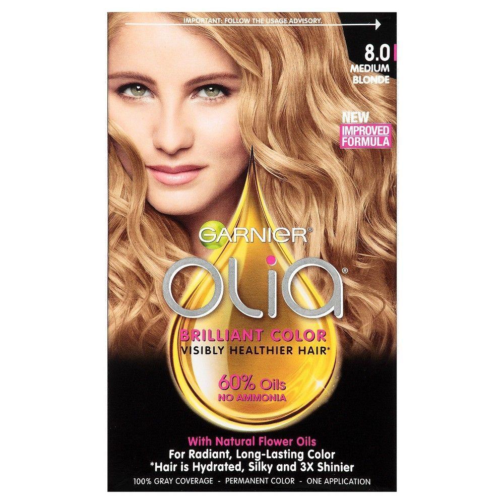 Garnier® Olia® Brilliant Color Darkest Platinum Brown 3.11. Medium BlondePermanent  ...