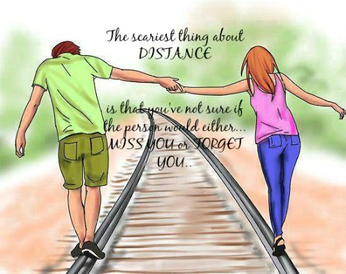 trust in a long distance relationship