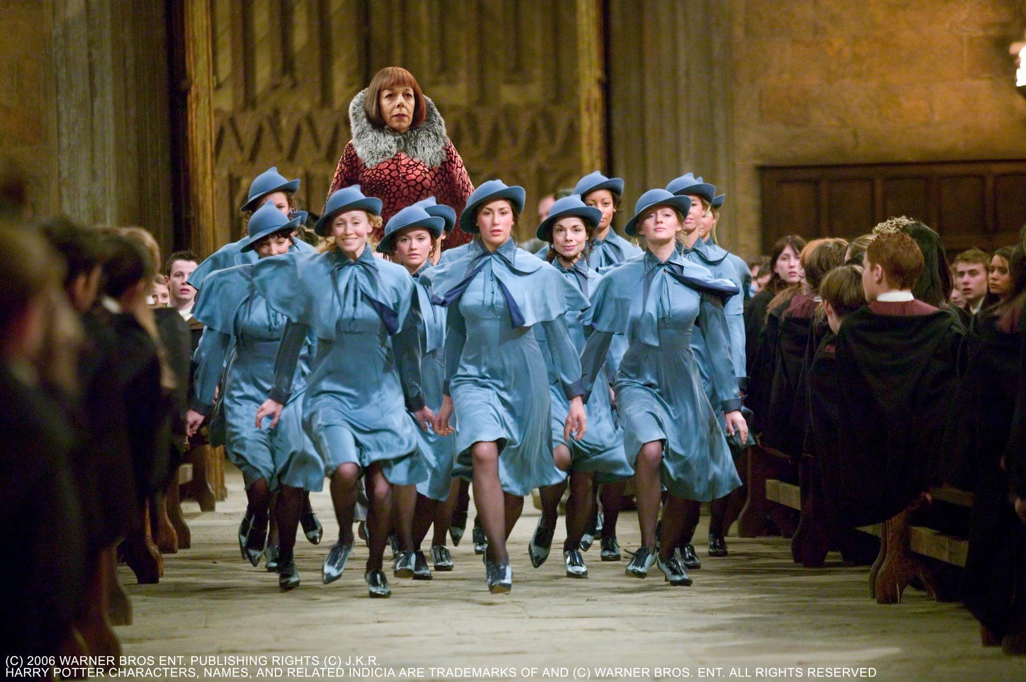 Pin Frances De La Tour In Harry Potter Och Den Flammande Bägaren ...