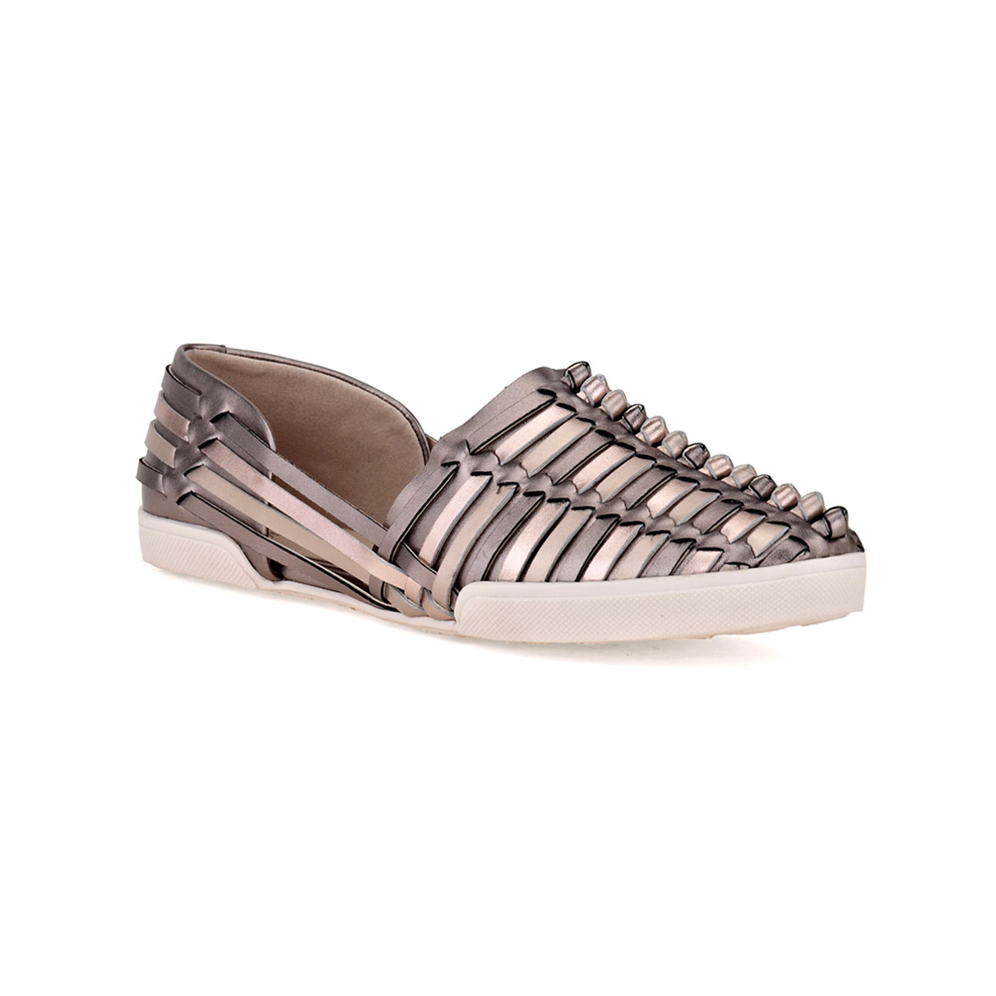 """#TuesdayShoesday Elliott Lucca® """"Rani"""" Casual Slip-ons, it's all about sneaker flats with woven detail for chic, trend-right style #LoveStyle"""