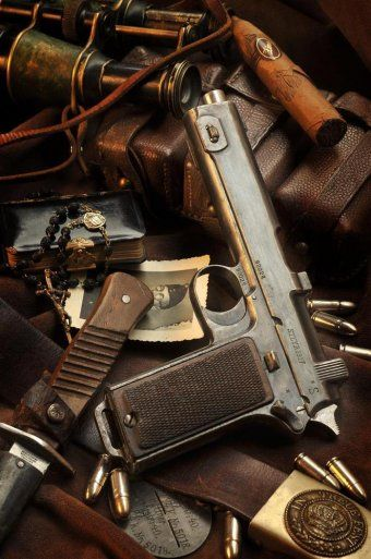 Steyr M1912 / Steyr HahnLoading that magazine is a pain! Get your Magazine speedloader today! http://www.amazon.com/shops/raeind