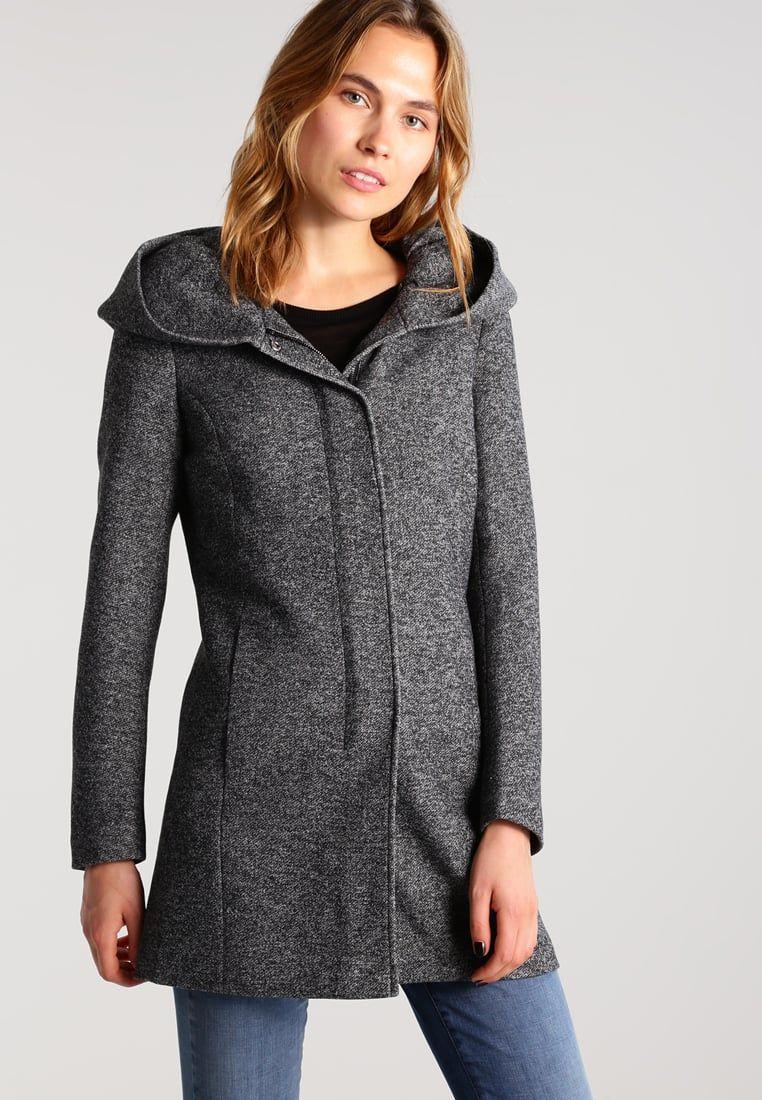 Vêtements ONLY ONLSEDONA - Manteau court - dark grey melange gris foncé  chiné  49,99 € chez Zalando (au 20 12 17). Livraison et retours gratuits et  service ... 76d1a26342b