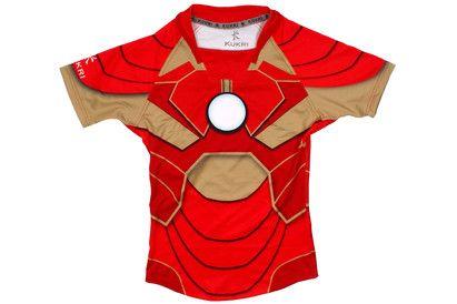 1860e7c43fb Superhero Iron Man S/S Rugby Shirt | Sport | Rugby, Iron man, Shirts