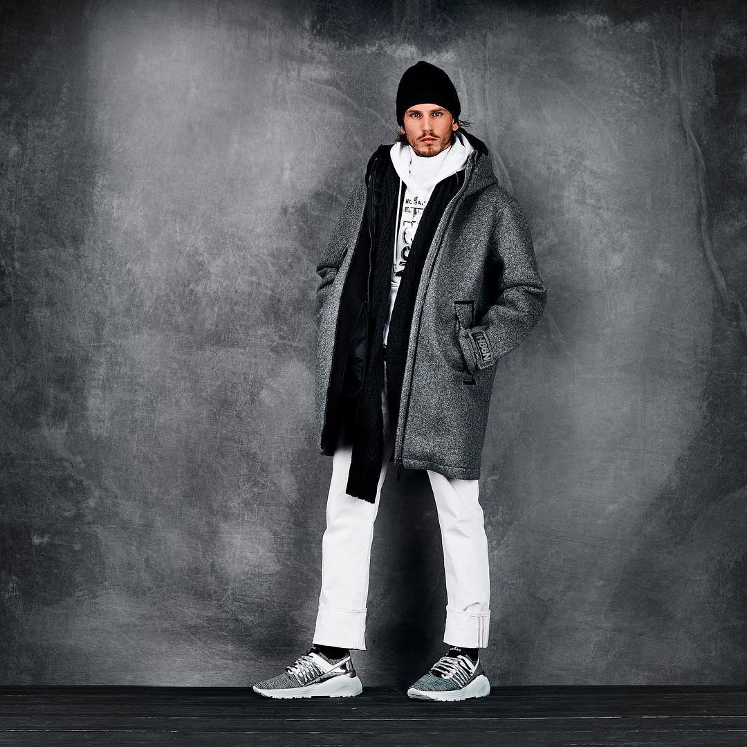 Into the cold north with the #HOGAN Autumn Winter #AW1920