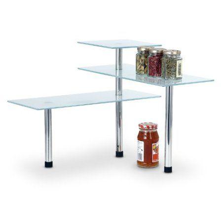 Mueble esquinero Estante esquinero Estante de cocina con 3 niveles ...