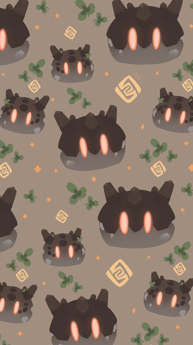 Did Geo Slime patterns, feel free to use It as phone wallpaper!