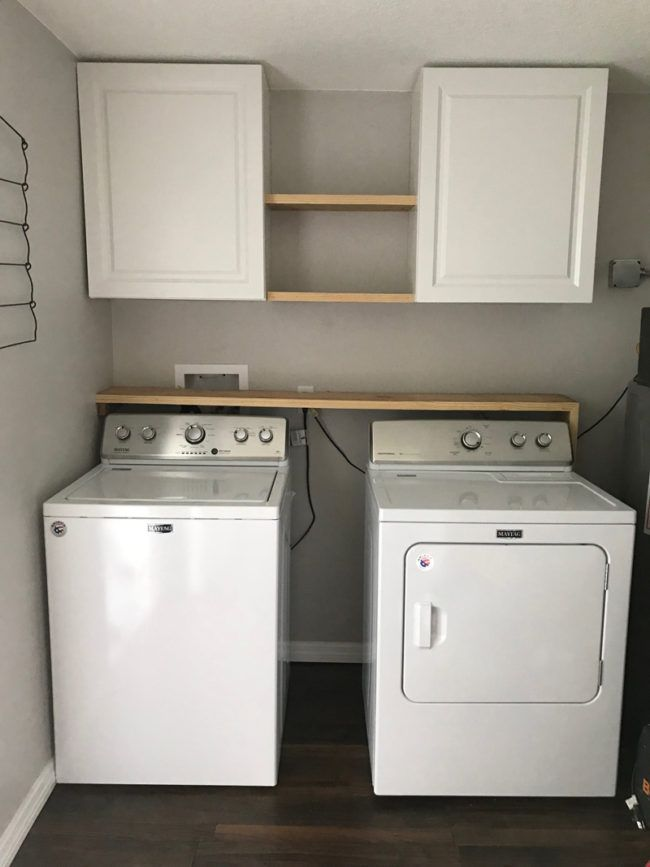 Photo of Farmhouse Laundry Room Redo – Before and After Farmhouse Laundry Room –