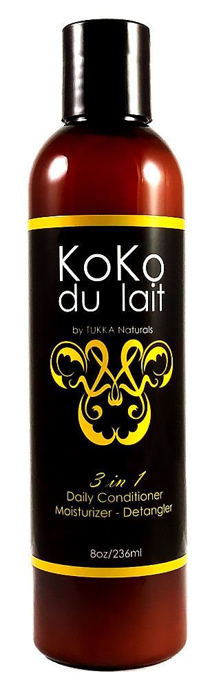 KoKo du lait Daily Leave In Moisturizing Detangler For Wavy, Curly, Kinky, Relaxed & Chemically Treated Hair: Amazon.com