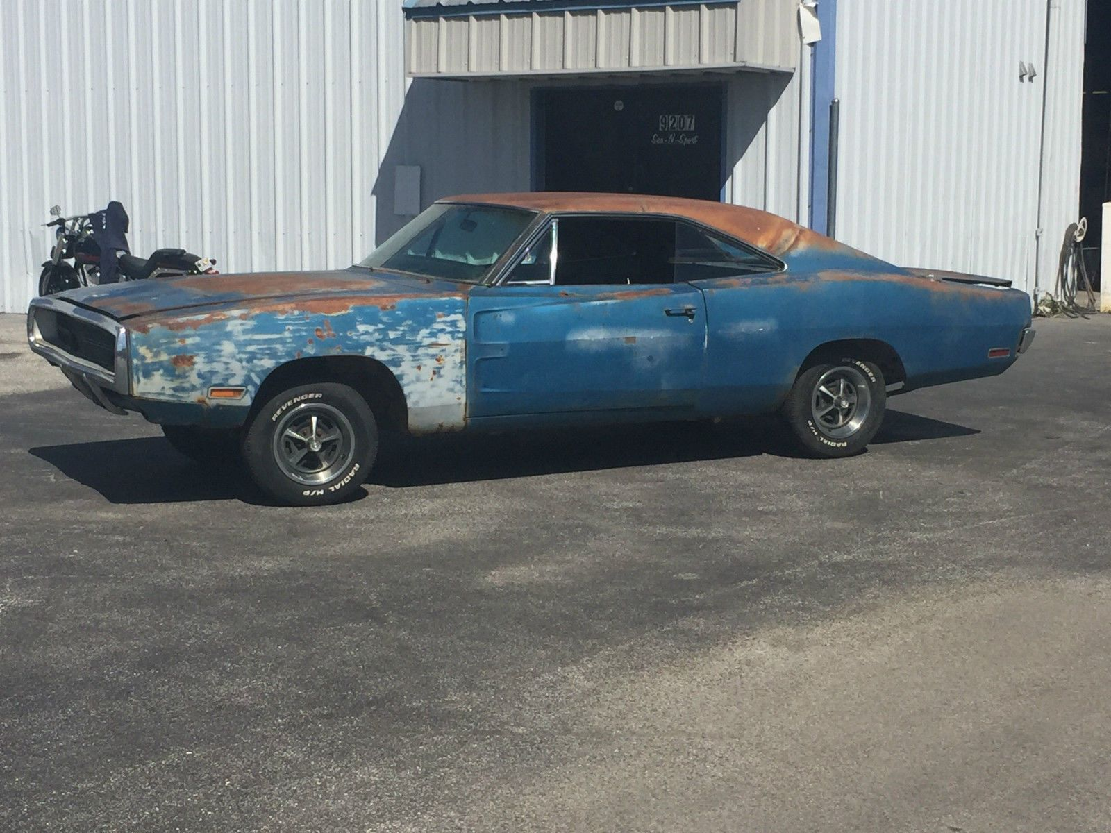 1970 Dodge Charger Rt Project Car Overall Solid Car Dodge