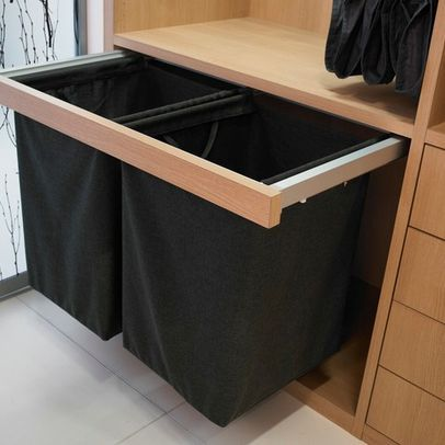 Built In Laundry Hamper Design Ideas Pictures Remodel And Decor
