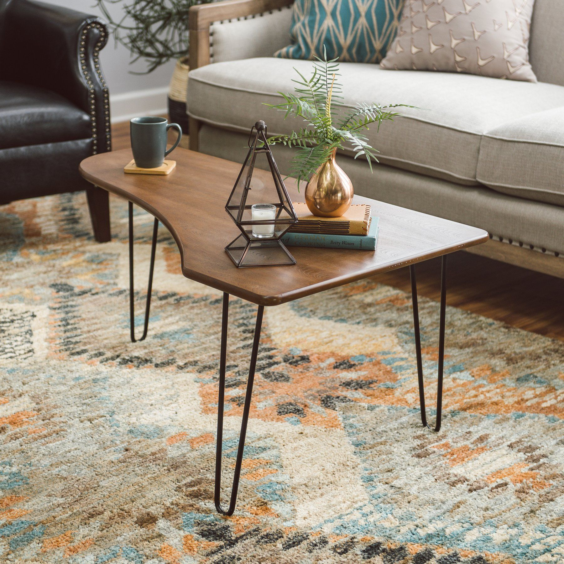 Couchtisch Walker Belham Living Jacobson Coffee Table With Hairpin Legs 1604182