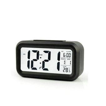 Led Alarm Clock With White Night Light