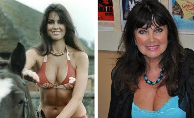 James Bond Girls Then And Now Caroline Munro Had A Hefty