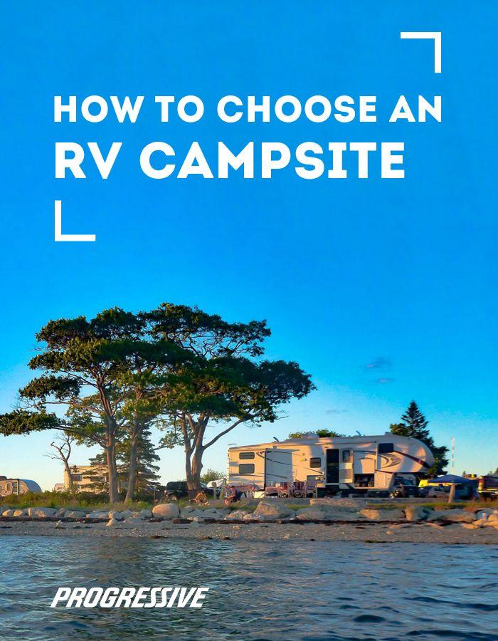 How to choose an RV campsite Campsite, Rv campsite