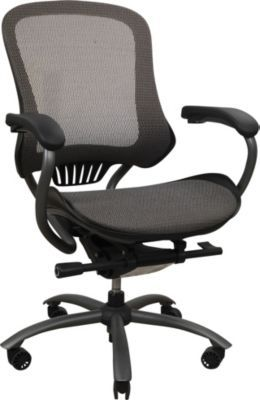 Staples Kronos Mesh Managers Mid Back Chair Mocha Gray Chair Guest Bedroom Office Office Printers