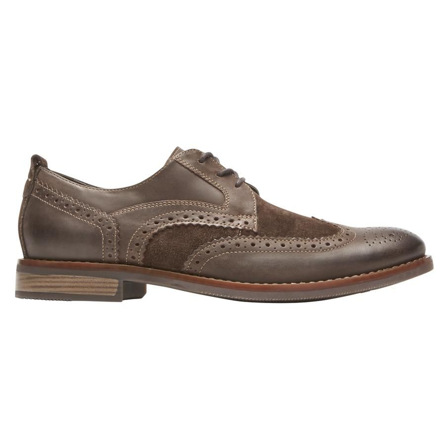 1b2c0e371787c The Wynstin Wingtip: old-school charm meets modern tech that delivers  superior comfort.