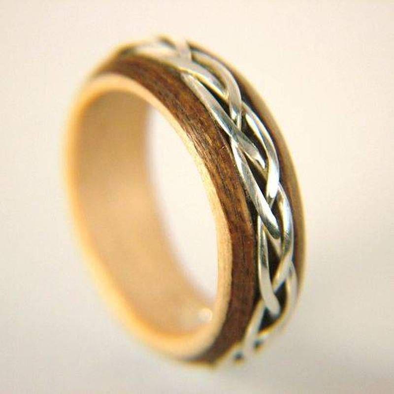 Beautiful Wooden Wedding Ring Wooden Wedding Rings Pinterest