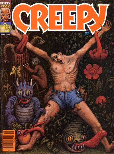 Cover for Creepy (Warren, 1964 series) #127 May 1981