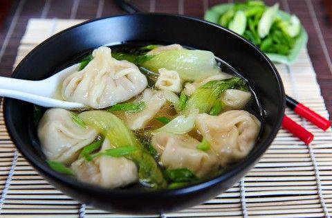 Zupa Z Wontonami Zupy Przepisy Chińskie Przepisy I Zupy
