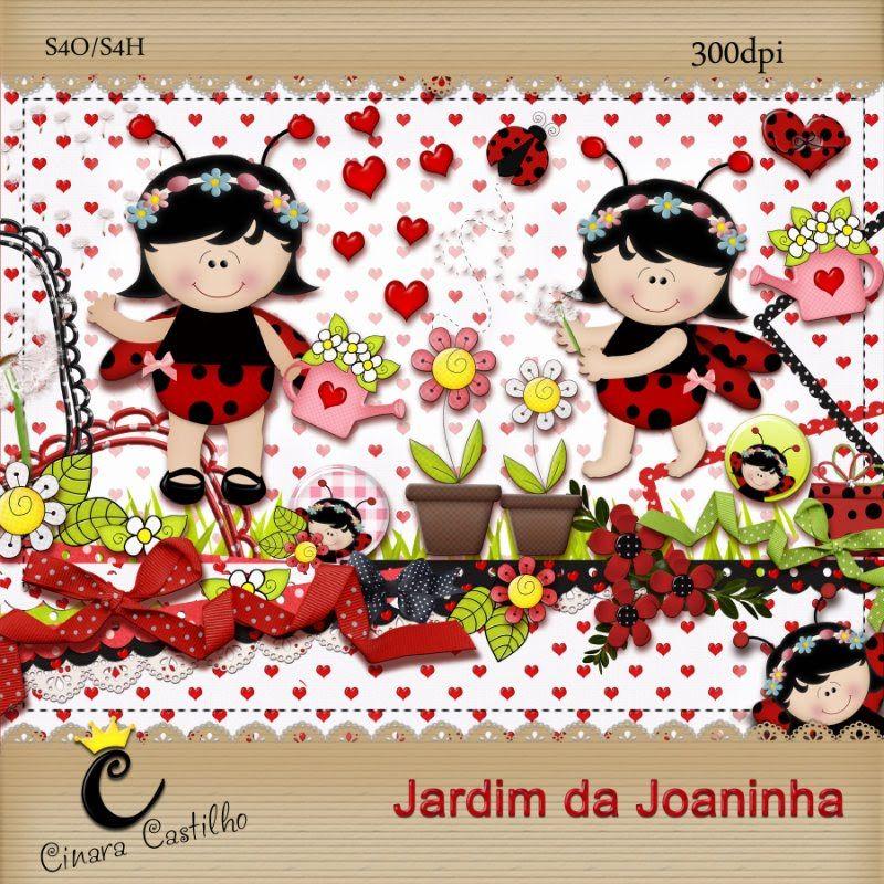 Cinara Castilho Kit Jardim Da Joaninha By Cinara Castilho