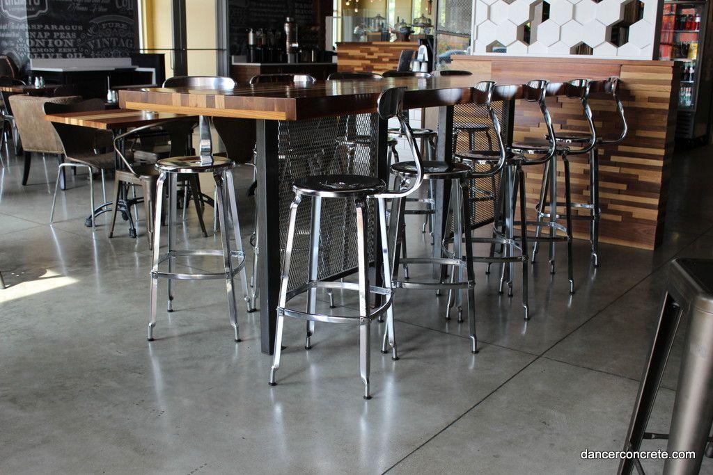 Image Result For Cafe Cement Floors Concrete Design Flooring Design
