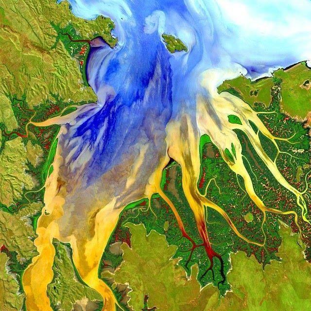 Western Australia from a Landsat 8 Image