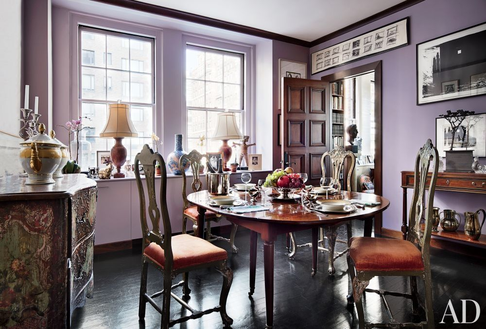 Dining Room New York Traditional Dining Roomjohn Yunis Ltdand Cicognani Kalla