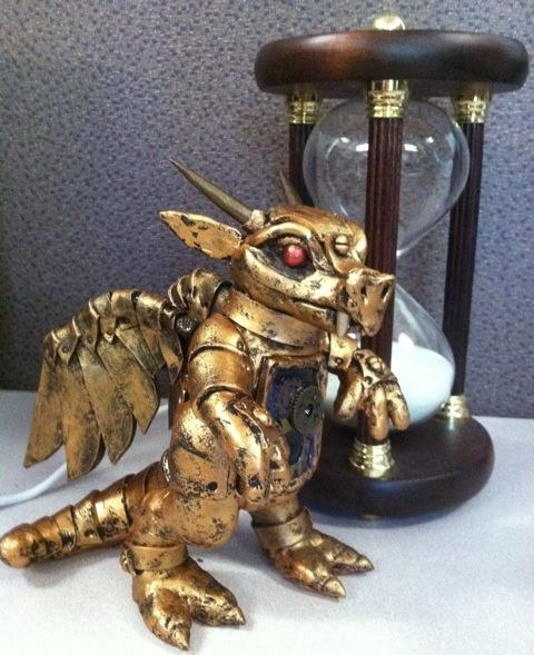 Come home and live with me little steampunk dragon!