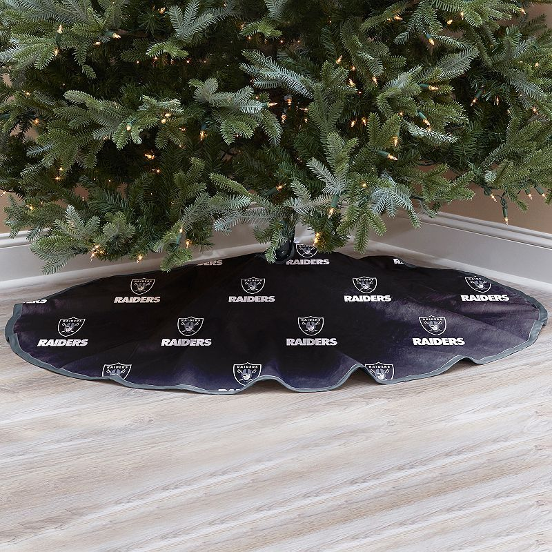 Oakland Raiders Christmas Tree Skirt Products Tree