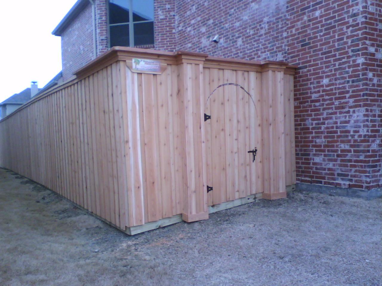 Wood Fence Gates Iron Fences 49 Board On Board