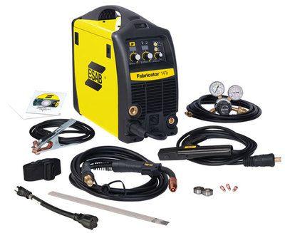 ESAB Fabricator 141i - 110 Volt Mig/Tig/Stick Machine Pinterest